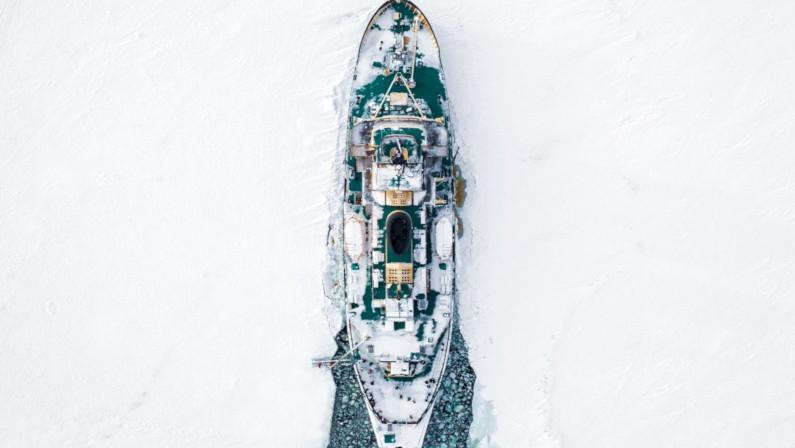 Icebreaker Sampo on Ice